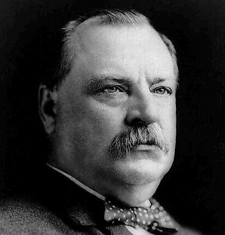 Grover Cleveland, 22nd And 24th U.S. President