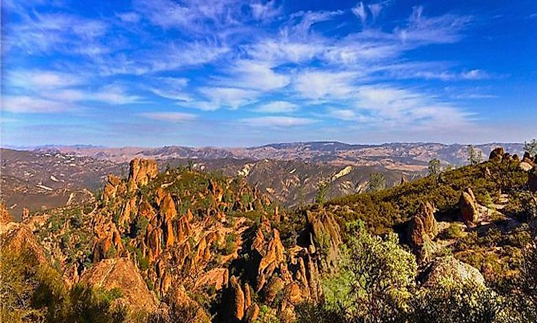 #7 Pinnacles National Park -