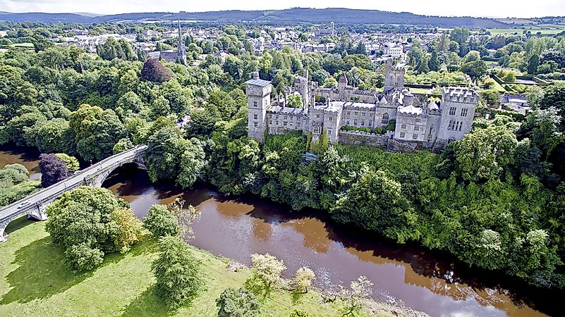 Lismore Castle in Waterford.