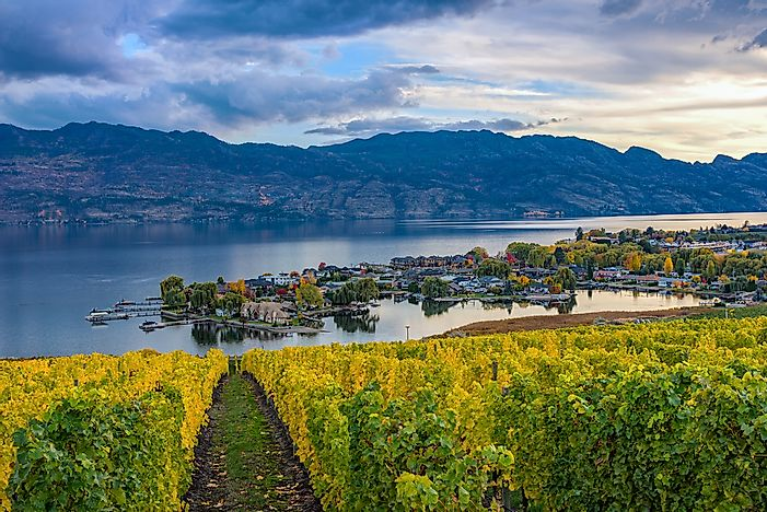 The beautiful Okanagan Valley.
