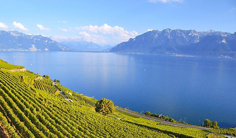 Which Countries Share Lake Geneva?