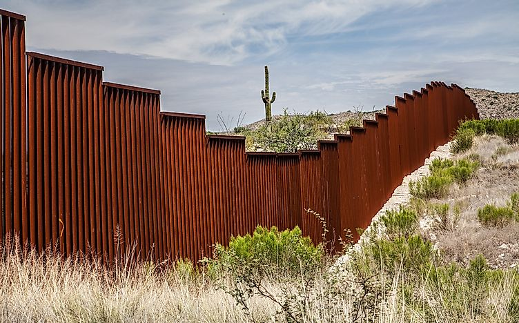 Countries With Border Walls - WorldAtlas.com