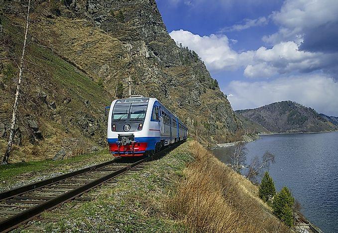 Trans Siberian Railway Russian 64