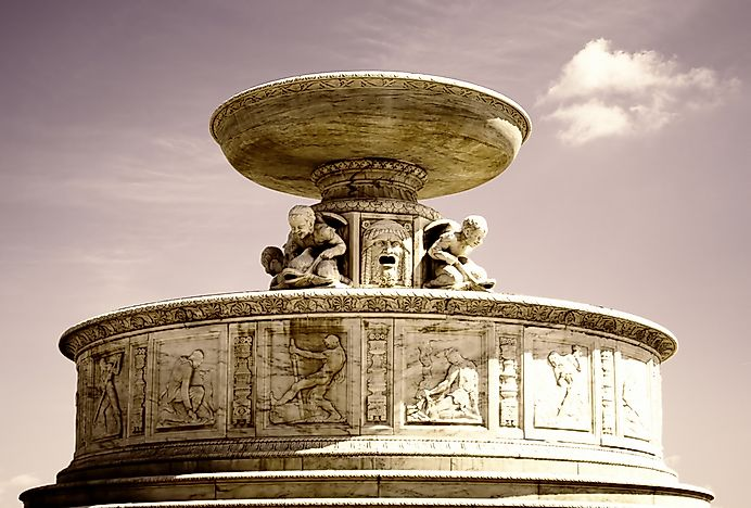 #10 Scott Memorial Fountain - 1925