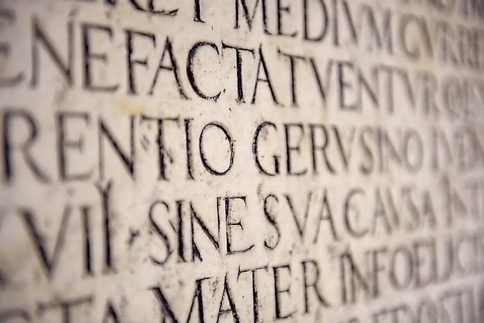 What Happened to the Latin Language?