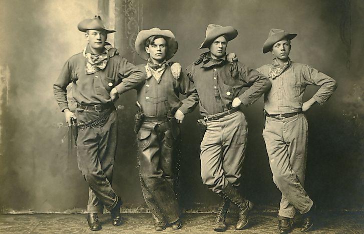 Краткая история ковбойских шляп.