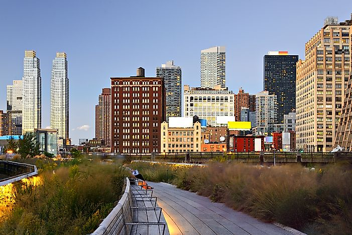 The High Line - another free way to take in New York.