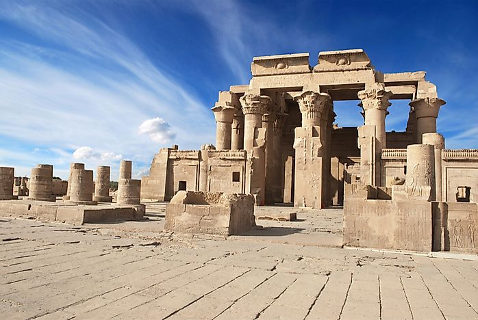 What Is Unique About the Temple of Kom Ombo in Egypt?
