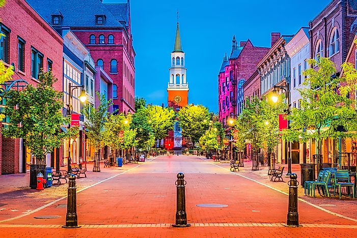 The Biggest Cities In Vermont