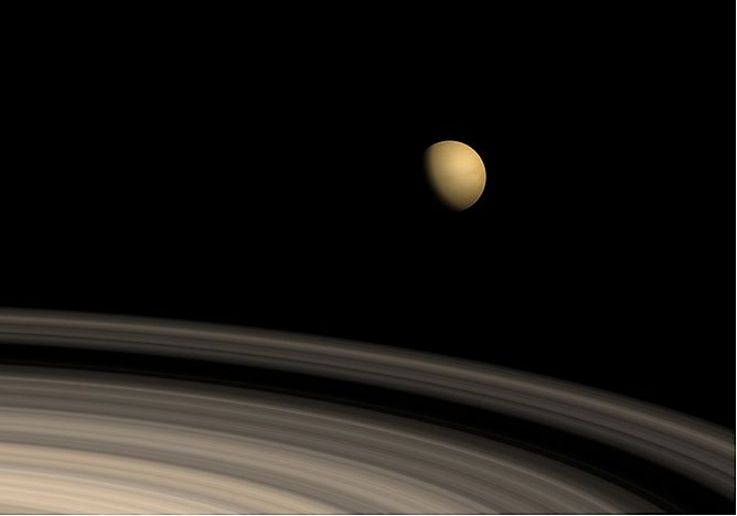 Cell Membranes Found in Saturn's Moon