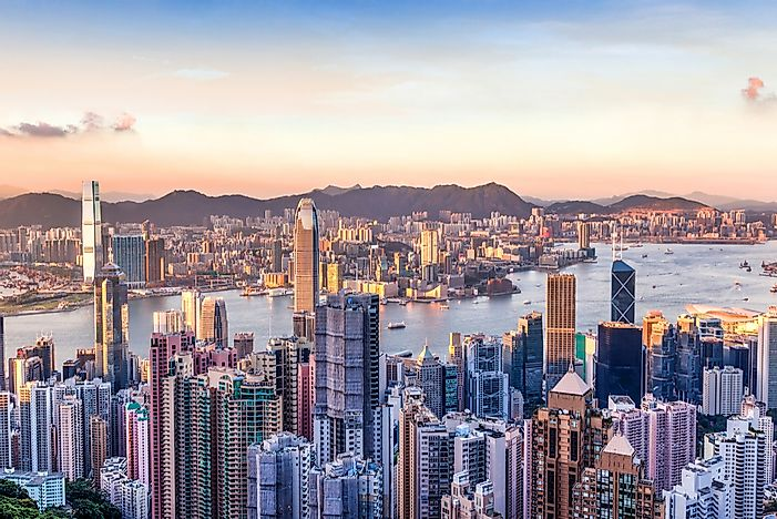 Hong Kong tops our list of the cities with the most skyscrapers in the world.