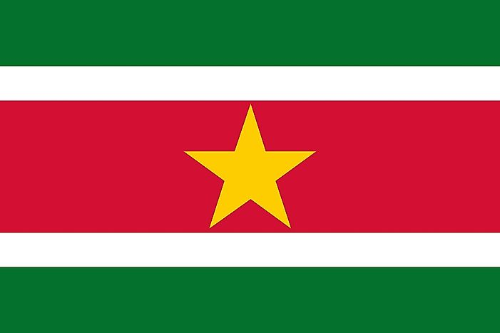 What Do the Colors and Symbols of the Flag of Suriname?