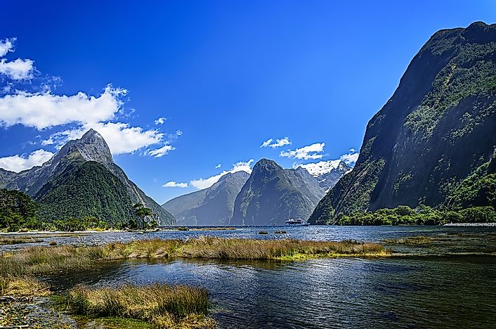 #5 Fiordland National Park, New Zealand