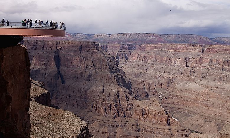 #1 Grand Canyon Skywalk, Arizona, US -