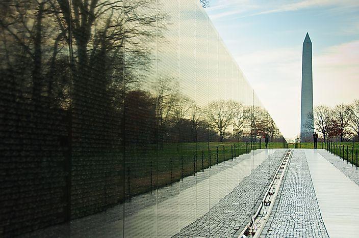 # 9 Đài tưởng niệm chiến tranh Việt Nam
