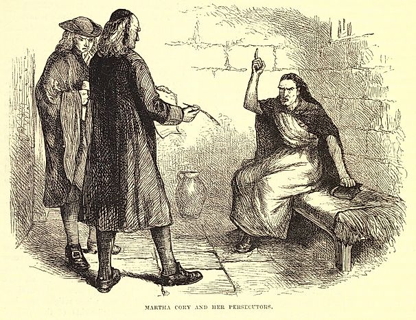 an overview of the infamous salem witchcraft trials of 1692 in massachusetts From the book of revelation to the infamous salem witch trials held in colonial massachusetts between february 1692 and may the witches: salem, 1692.