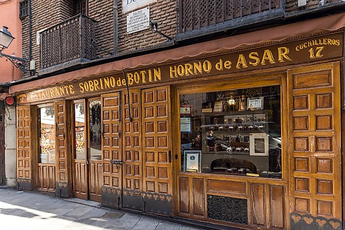 Which Is The Oldest Operating Restaurant In The World?
