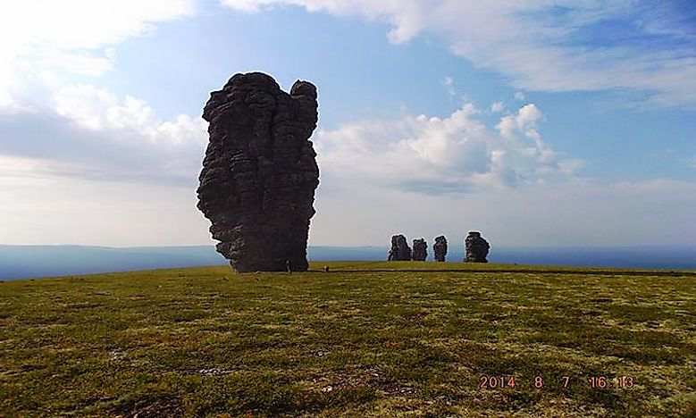 #6 Manpupuner rock formations -