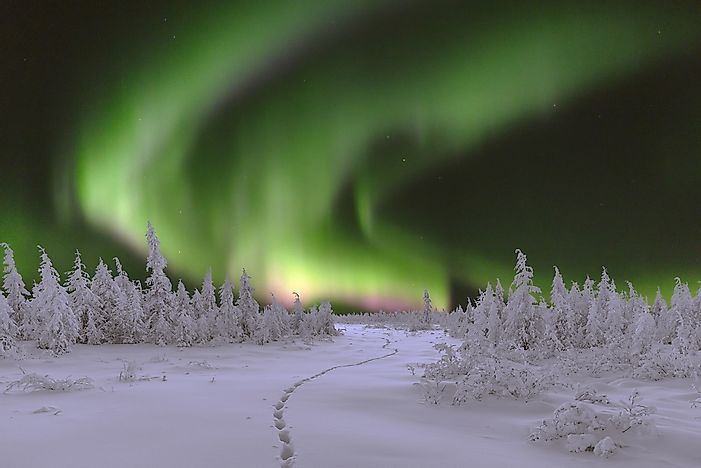 #5 Northern Lights - Northern Canada