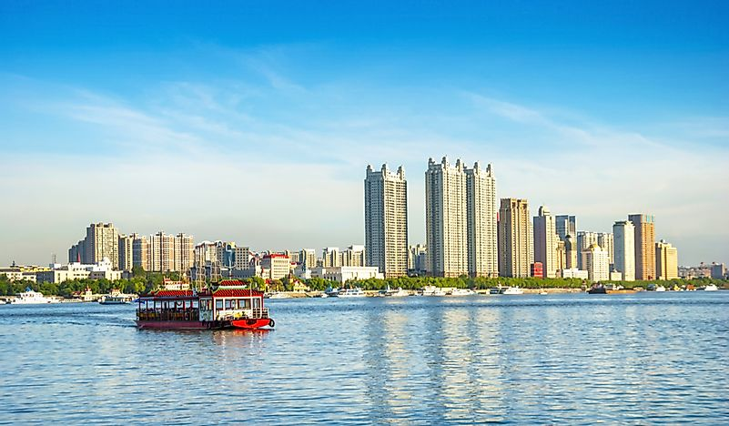 What Is The Capital Of The Heilongjiang Province Of China?