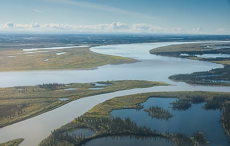 Longest Rivers In Canada WorldAtlascom - Third longest river in the world