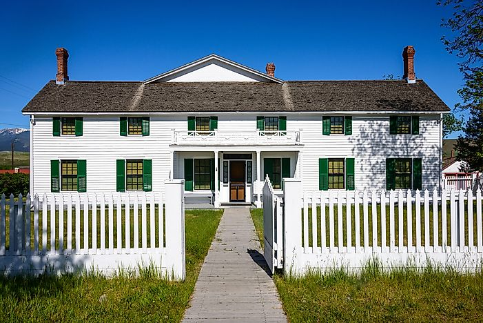 #5 Grant-Kohrs Ranch National Historic Site - Powell County, Montana