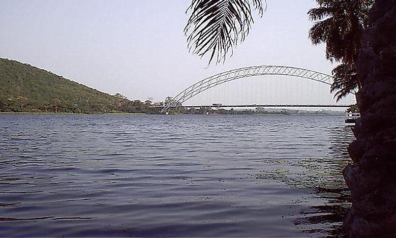The Major Rivers Of Ghana WorldAtlascom - List of major rivers