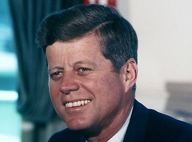John F. Kennedy - US Presidents in History