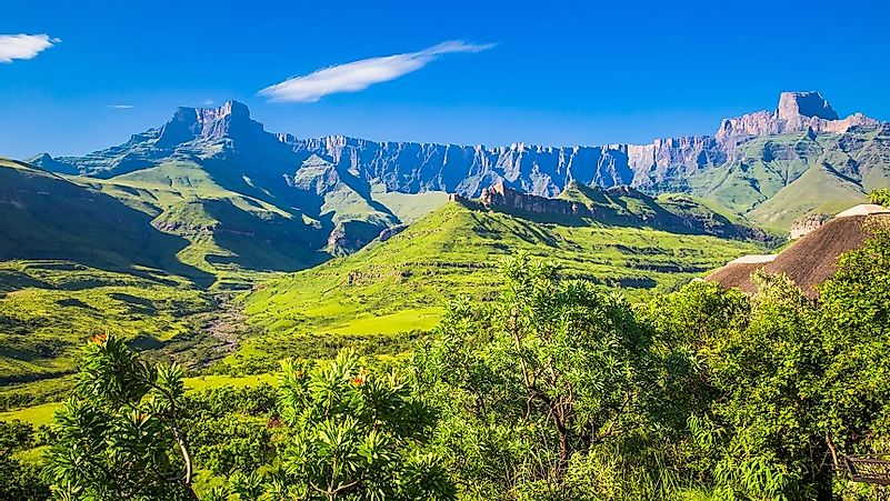 The Great Escarpment Of Southern Africa