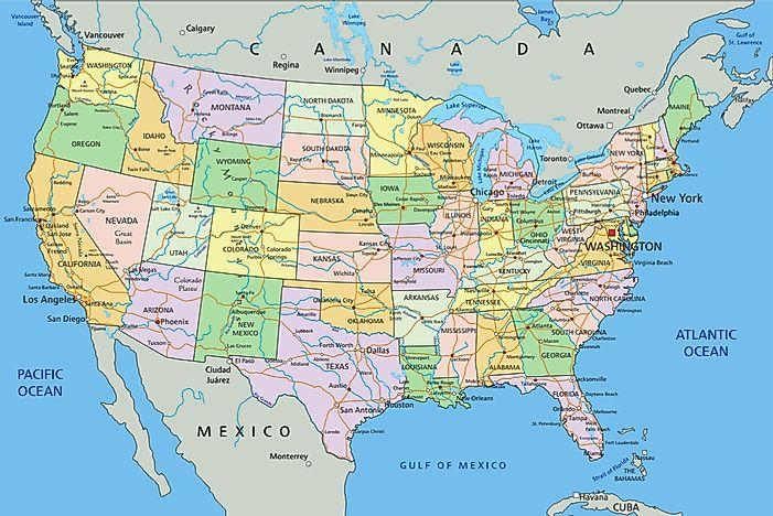 The Doubly Landlocked Us States Worldatlas Com