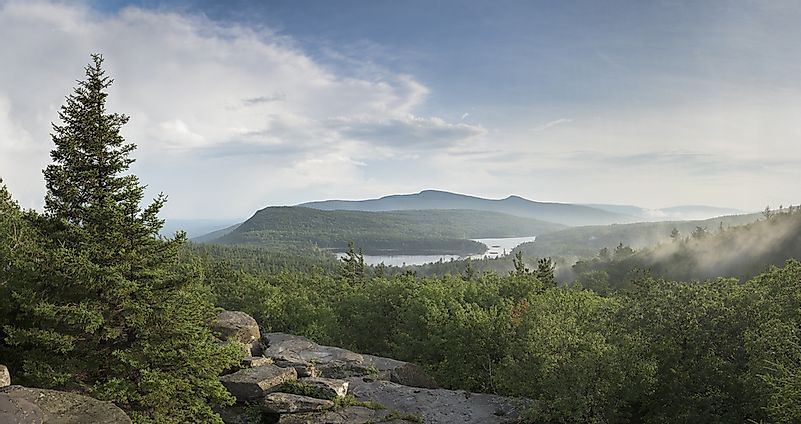 The Unique Landscape Of The Catskill Mountains , WorldAtlas.com