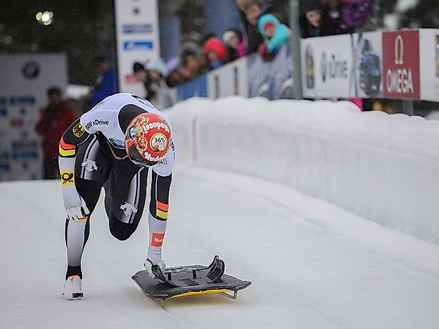 Winter Olympic Games: Skeleton