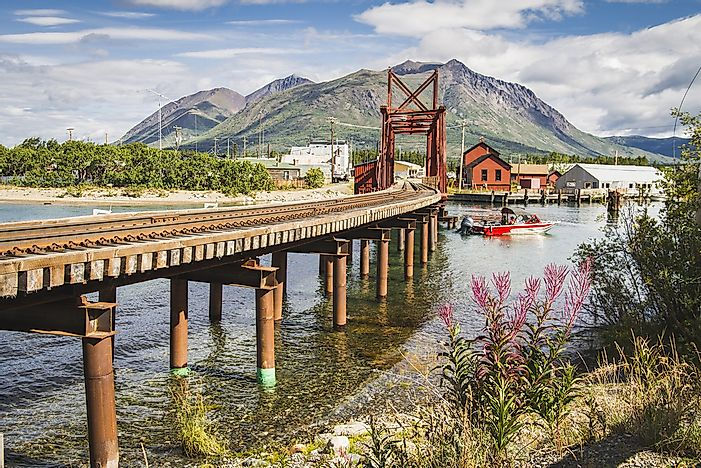 A bridge in the Yukon territory.