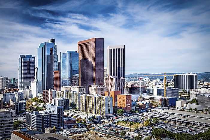 #2 Los Angeles-Long Beach-Anaheim, California - Richest Cities in the US