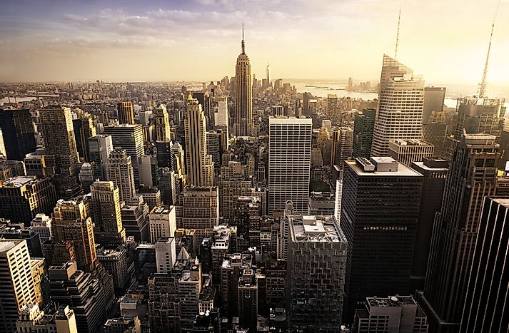 #1 New York-Newark-Jersey City, NY-NJ-PA (Metropolitan Statistical Area) - Richest Cities in the US