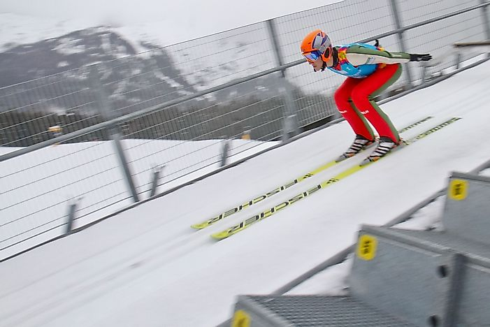 Winter Olympic Games: Ski Jumping
