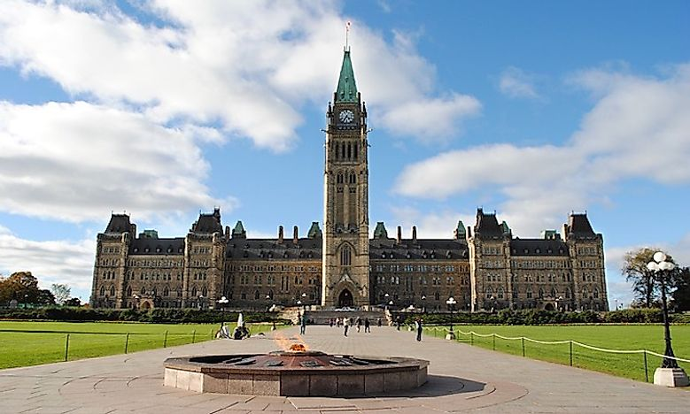 What Type Of Government Does Canada Have? - WorldAtlas.com