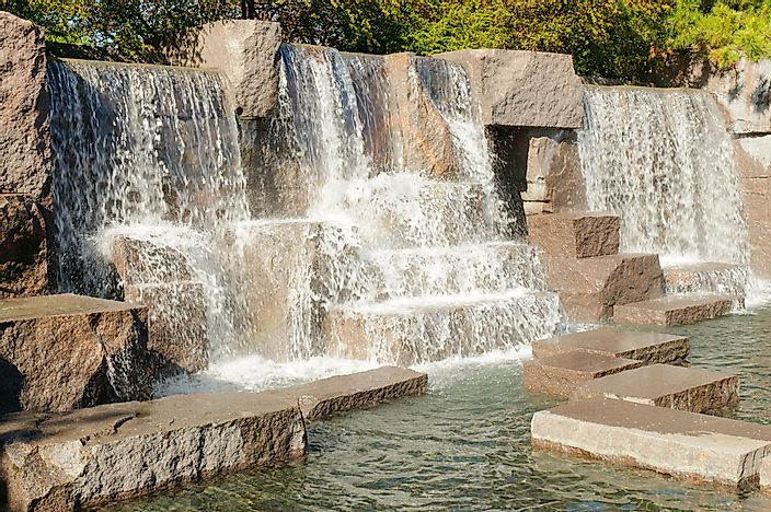 #5 Franklin Delano Roosevelt Memorial - 1997