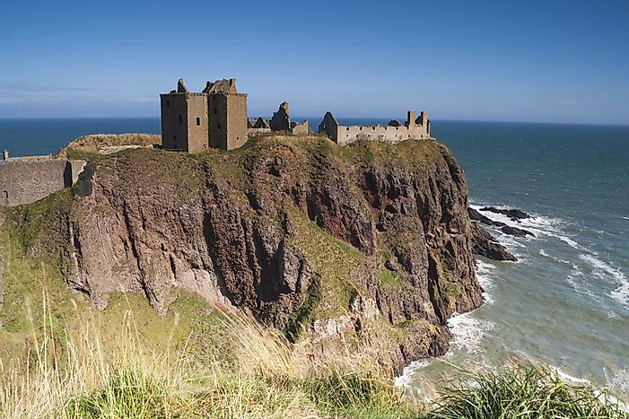 Dunnottar Castle, Scotland - Unique Places around the World