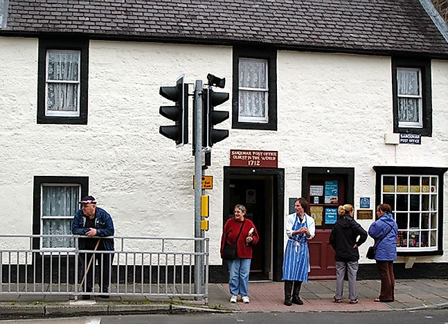 Where Is The World's Oldest Post Office?