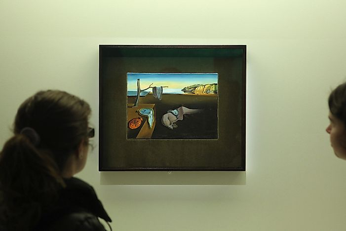 Famous Artwork: The Persistence of Memory