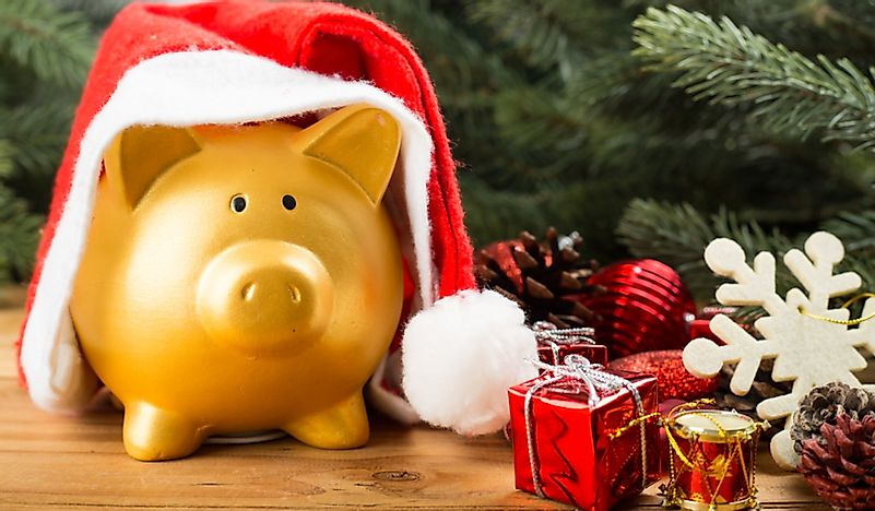 Christmas Spending.Which Countries Spend The Most On Christmas Worldatlas Com
