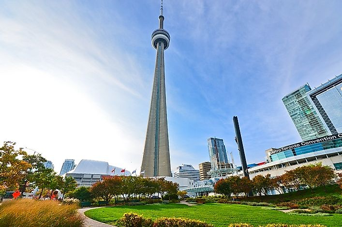 #3 CN Tower, Canada - 1,815 Feet