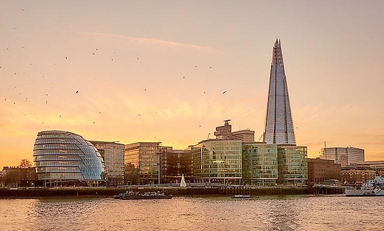 Tallest Buildings In London Worldatlas Com