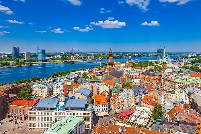 Riga - Historic City In Latvia