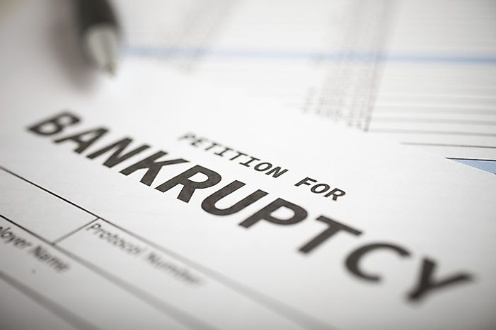 Personal Bankruptcy Filings By State