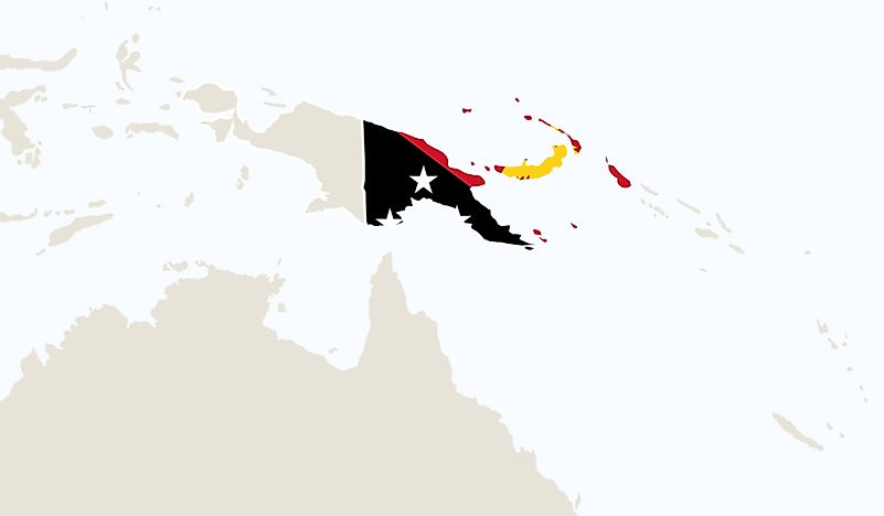 Which Countries Border Papua New Guinea?