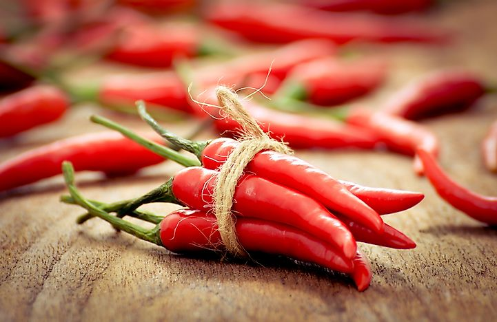 The World's Top Chili Pepper Producing Countries