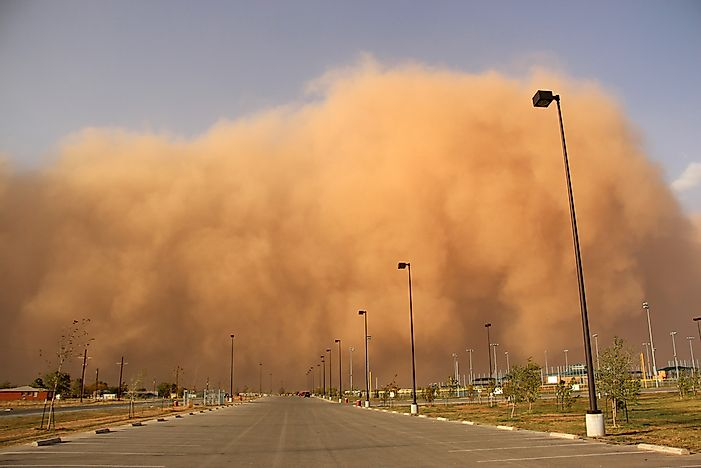 What Is A Dust Storm?