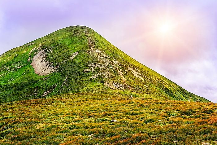 Tallest Mountains In Ukraine